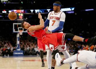 Los Knicks se apuntan el duelo de grandes en horas bajas