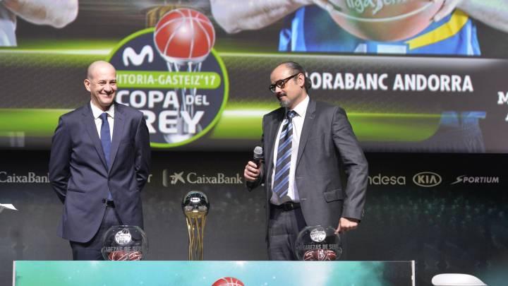 Alberto Herreros y Francesc Solana.