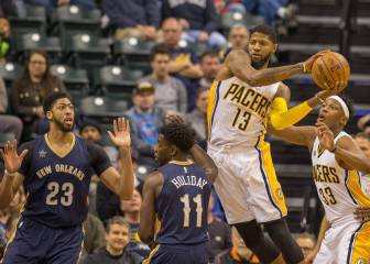 Anthony Davis ve desde fuera la derrota de su Pacers en Indiana