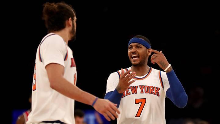 Carmelo reafirma su interés en quedarse en los Knicks