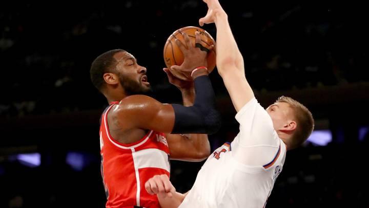Wall decide un partido en el que los Knicks remontaron 16 puntos