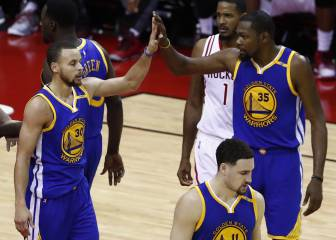 Houston no pudo frenar la aplanadora de los Warriors