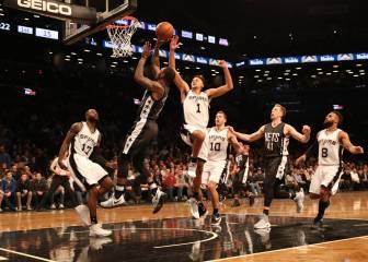 Sin Kawhi, Pau ni Tony Parker, los Spurs también avasallan