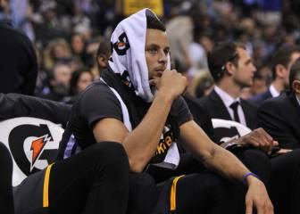 Curry es humano: fallo imposible y 8ª derrota de los Warriors