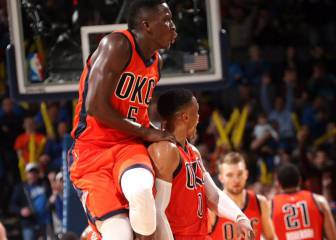 Westbrook no pierde fuelle: sin triple-doble, pero 42 puntos
