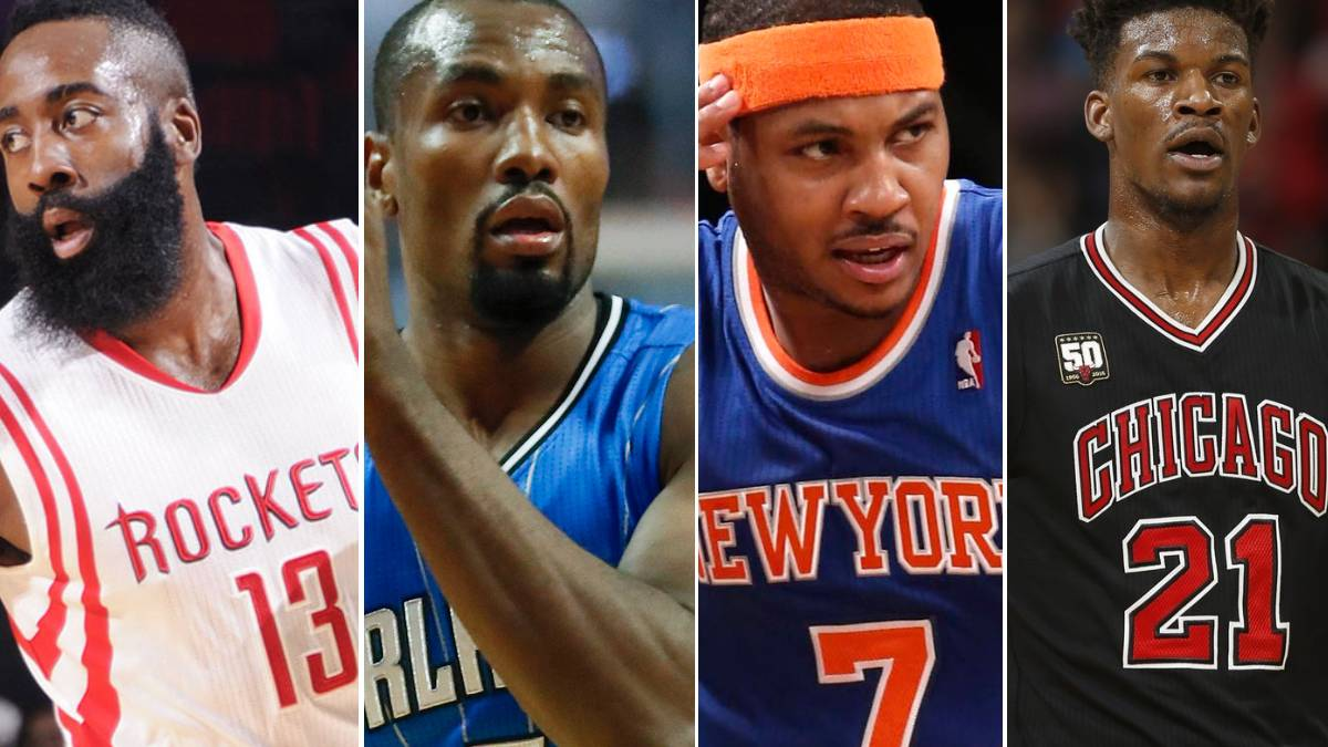 ¿Ibaka, a Houston con Harden? ¿Anthony, a Chicago con Butler?