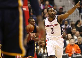 John Wall decide un gran duelo en Washington ante Paul George