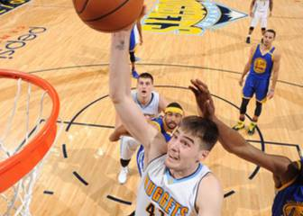 Los Nuggets sorprenden y aplastan a los Warriors