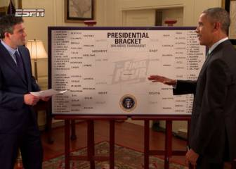 Trump no sigue la tradición de Obama: no al 'bracket' NCAA