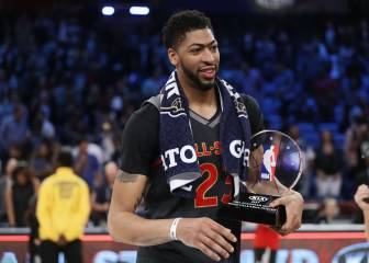 Anthony Davis logra el MVP en su All Star con ¡52 puntos!