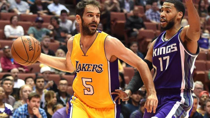 Los Lakers cortarán a Calderón: Warriors y Rockets, interesados