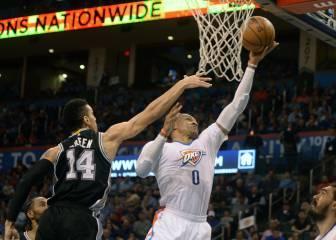 Westbrook apunta a Robertson tras superar a Chamberlain - AS.com