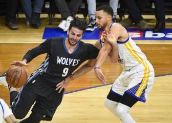 Ricky brilla ante Curry y los peores Warriors con Kerr