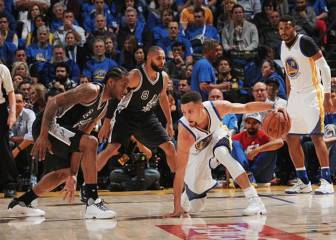 Hoy, Spurs-Warriors sin Curry, Durant, Klay, Green, 'Iggy' y Kawhi