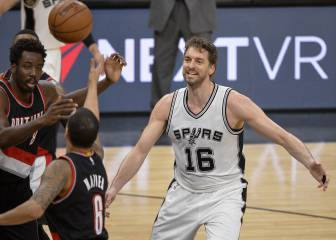 Los Spurs de Pau Gasol patinan y dan aire a los Warriors