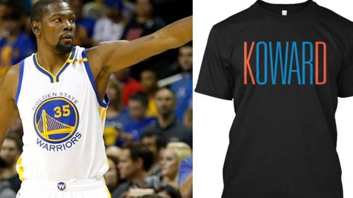 Durant en OKC: los Warriors, \