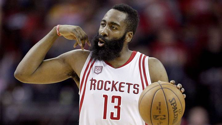 James Harden (39+11) tumba a los Nuggets a lo Usain Bolt