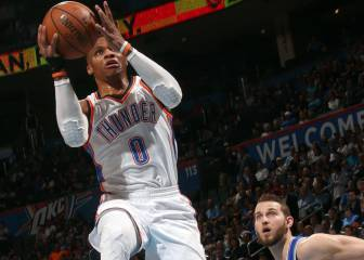 Westbrook consigue su primer 'triple-doble perfecto'