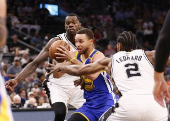 Curry y sus Warriors remontan ¡22 puntos! en San Antonio
