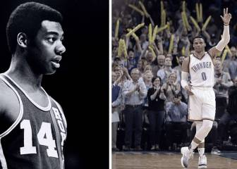Westbrook (45+9+10) se exhibe pero se queda a un rebote de su 42º triple-doble de la temporada - AS.com