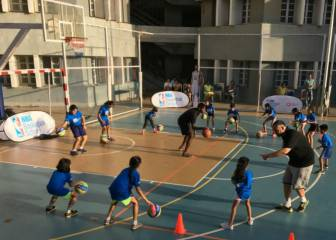 La NBA inicia en la India su red internacional de escuelas