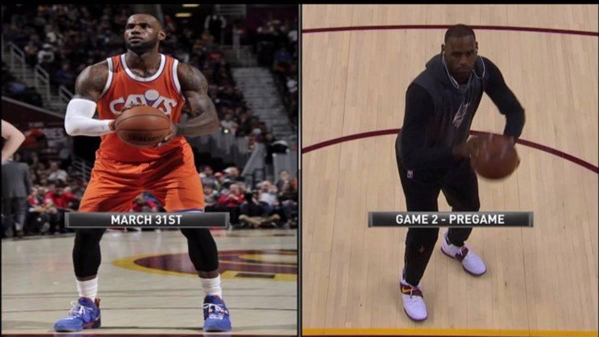 3115c1334f8 El antes y el después de LeBron James en los tiros libres.