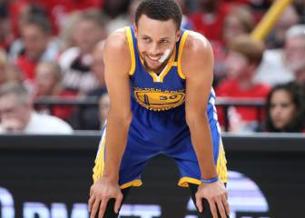 Curry se disfraza de Jordan y los Warriors barren a los Blazers