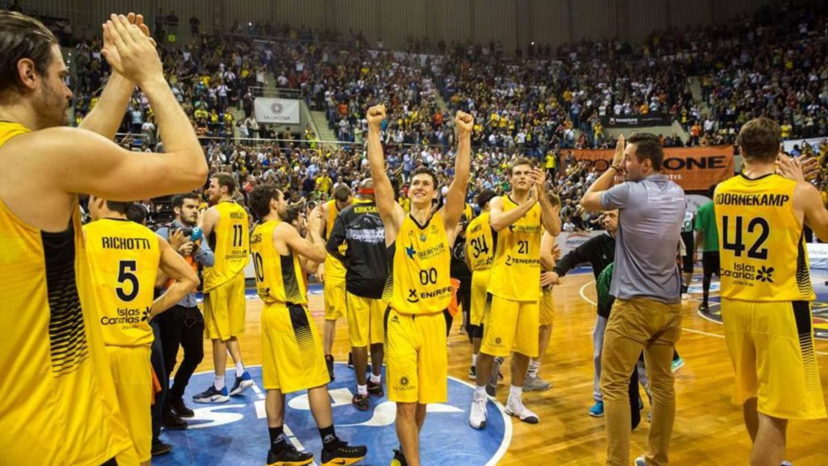 El Iberostar Tenerife, a defender el liderato a falta de dos jornadas
