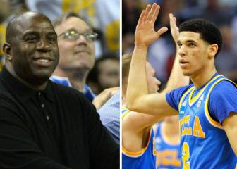 Lonzo piensa en los Lakeres y en aprender de... Magic Johnson