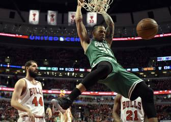 Los Celtics incendian Chicago; no pasaban de ronda desde 2012