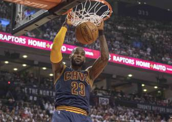 LeBron leads Cavs sweep past Raptors into conference finals