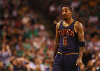 JR Smith calienta el Game 2: