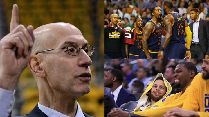 Adam Silver, sobre el dominio de los Warriors y Cavs en la NBA: \