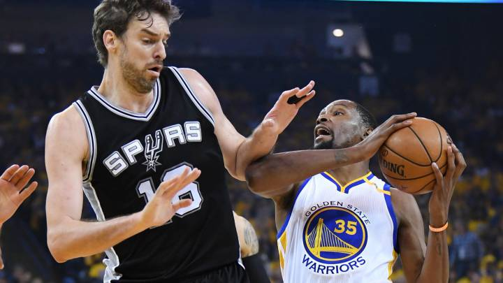 Pau, sobre los Warriors: \