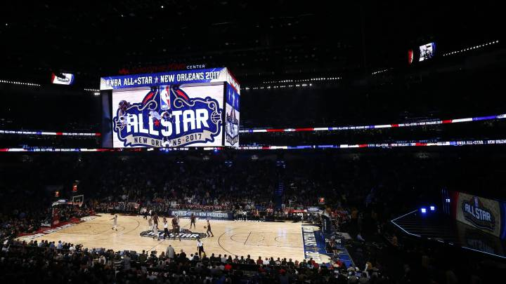 El Smoothie King Center de Nueva Orleans durante el All Star Game de 2017.