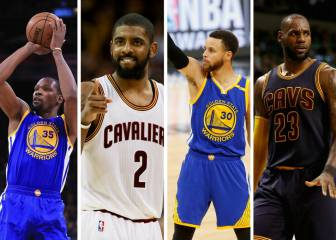 Warriors-Cavaliers: calendario y horarios de las Finales NBA