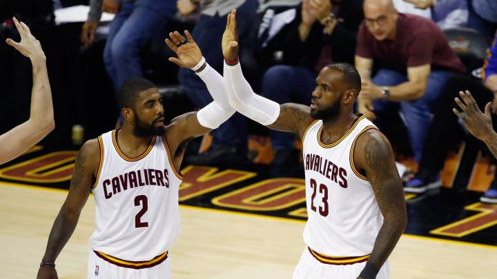 Kyrie and LeBron take Cavaliers to game 5 against Warriors