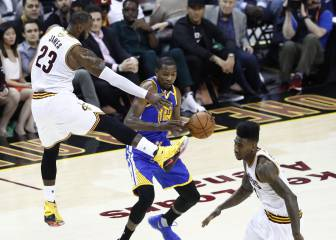 Finales NBA: los Warriors, con LeBron James en cancha: ¡-6!