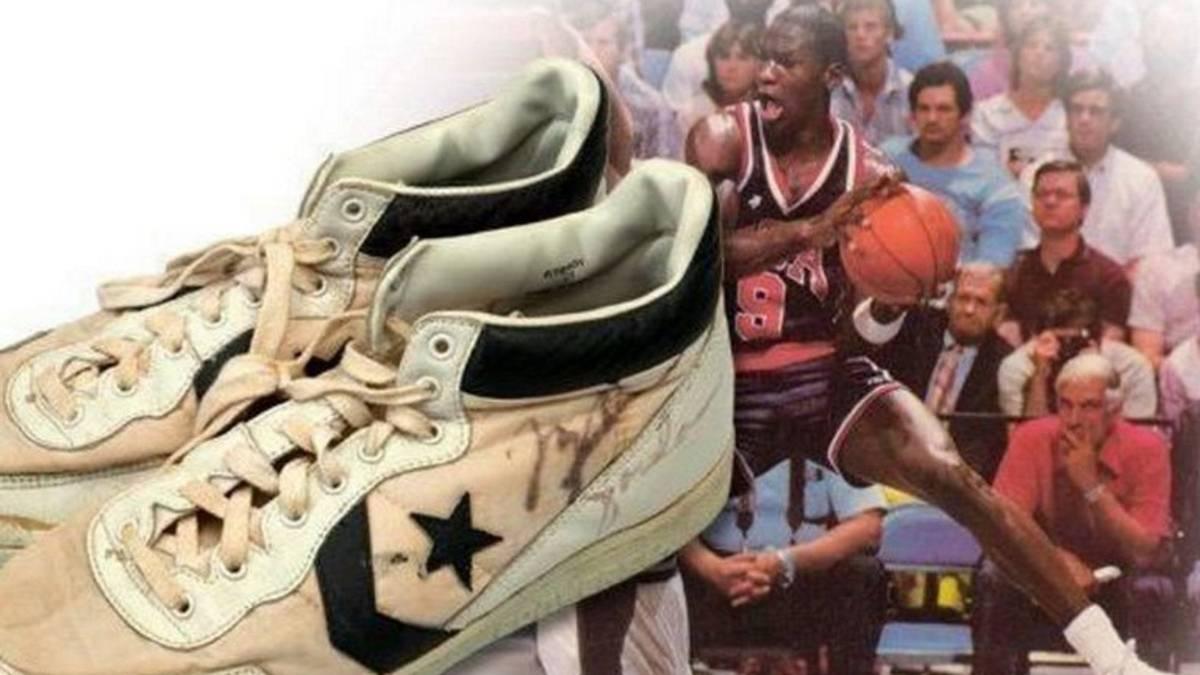 Las zapatillas que usó Michael Jordan en Los Angeles 84, las más caras de la historia