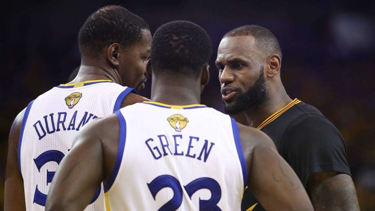 La burla de los Warriors contra LeBron James