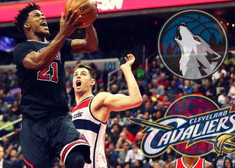 Cavs y Wolves negocian con los Chicago Bulls por Jimmy Butler