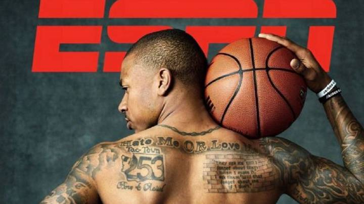 Isaiah Thomas posa desnudo para \'The Body Issue\' de ESPN.