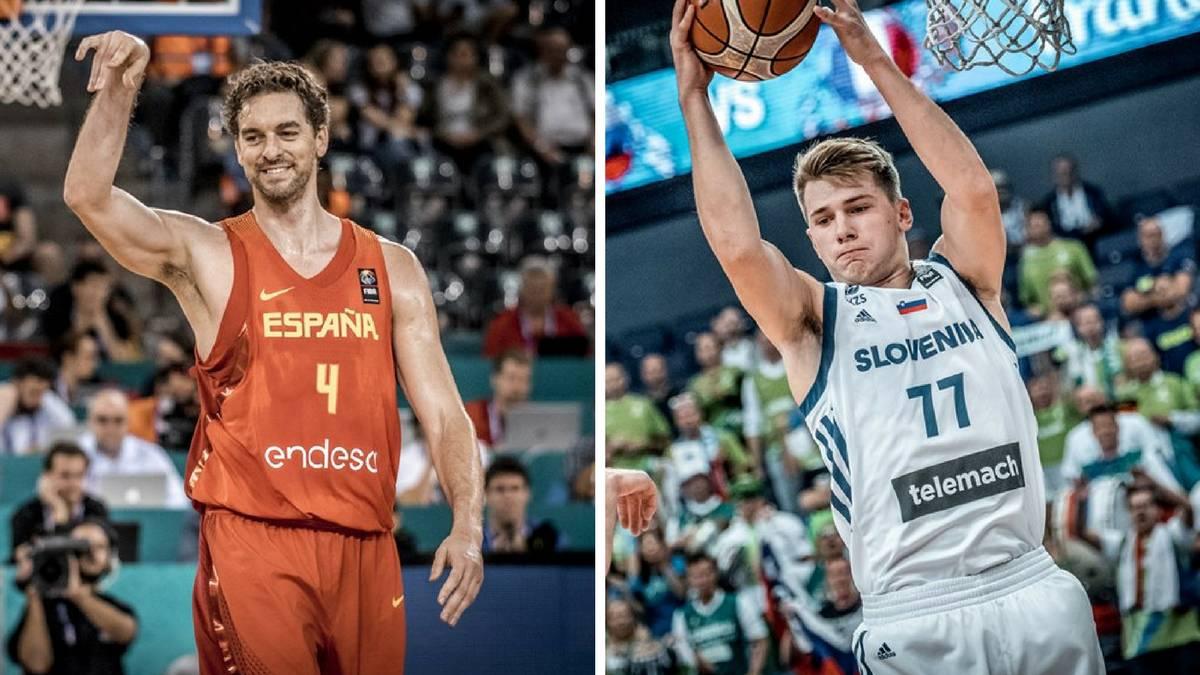 España y Eslovenia se citan el jueves en semifinales