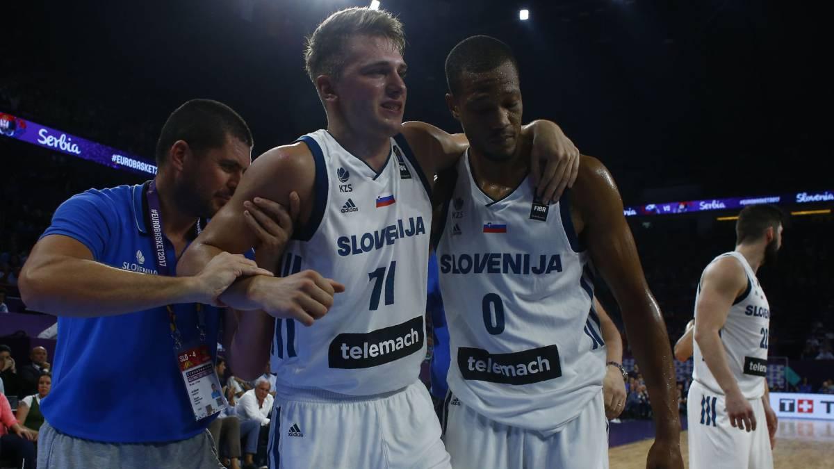 Eslovenia es el campeón del Eurobasquet más pequeño desde 1935