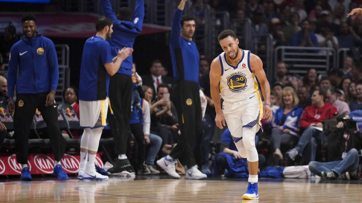 Descomunal Stephen Curry desde que volvió de la lesión