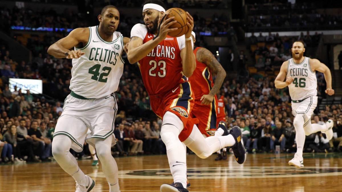 Anthony Davis acabó con Celtics con 45 puntos y 16 rebotes
