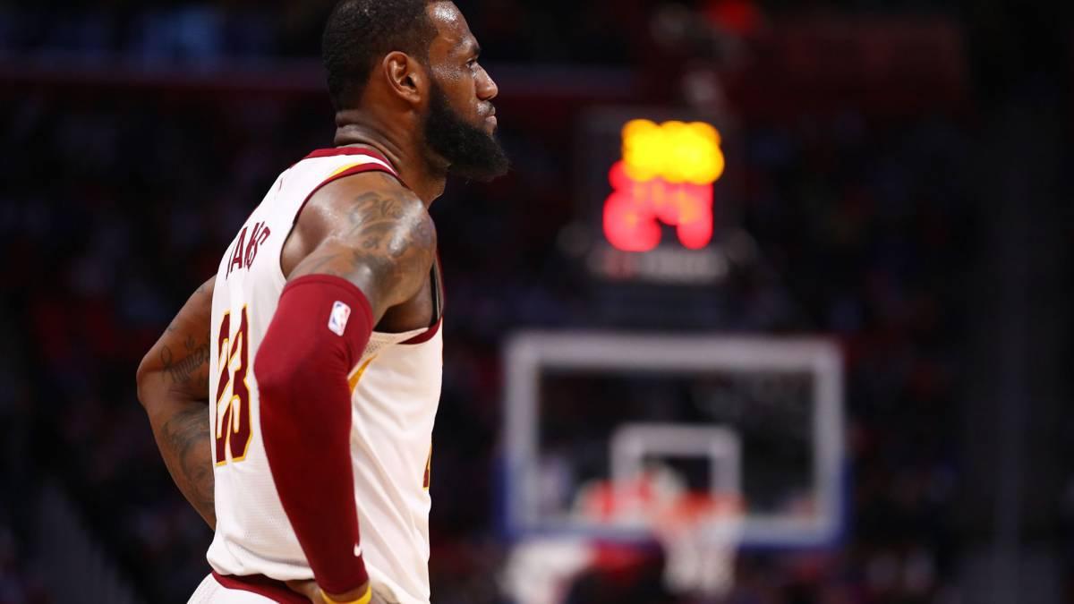 LeBron James guío sólido triunfo de los Cavaliers ante Detroit