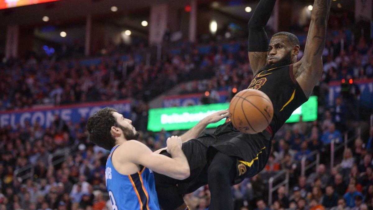 LeBron James y los Cavaliers se vengan de los Thunder