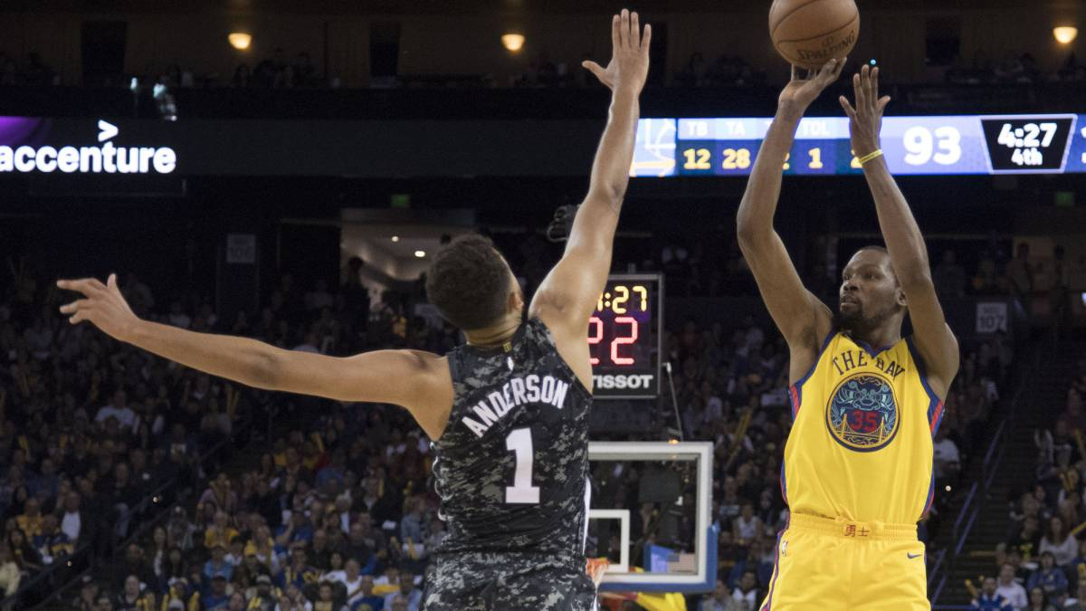 Los Spurs de Ginóbili no pudieron contra Los Warriors