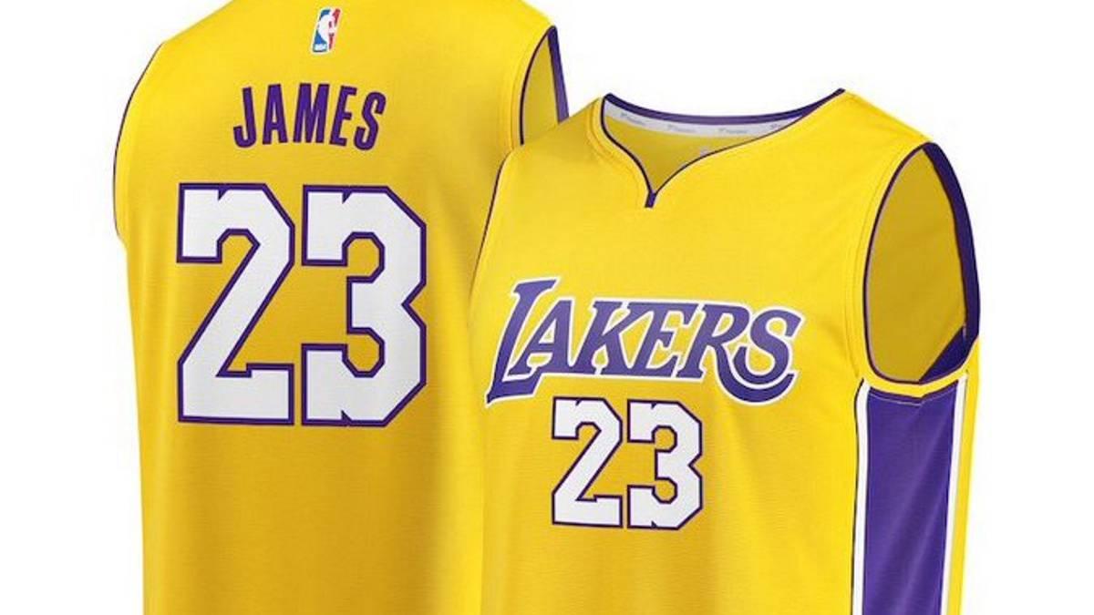 LeBron no cambiará de dorsal  llevará el  23  en los Lakers - AS.com faf8bbe4d69ee